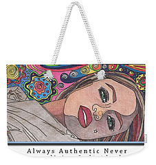 Fierce Fabulous And Feminine Weekender Tote Bag