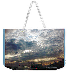 Fierce Skies Weekender Tote Bag