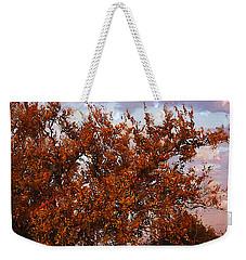 Fiery Elm Tree  Weekender Tote Bag