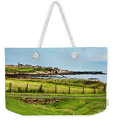 Fife Coastal Pathway Leading To Pittenweem Weekender Tote Bag by MaryJane Armstrong