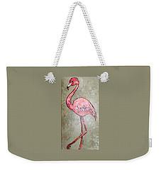 Fifi Flamingo Weekender Tote Bag