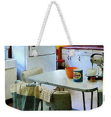 Fifties Kitchen Weekender Tote Bag