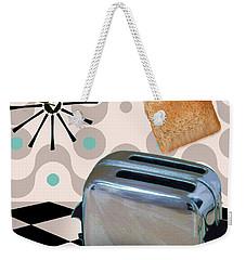 Fifties Kitchen Toaster Weekender Tote Bag