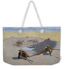 Fight For The Waterhole Weekender Tote Bag