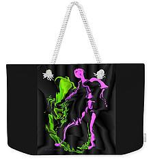 Fighting The Demon Weekender Tote Bag
