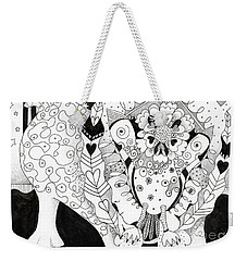 Figments Of Imagination - The Beast Weekender Tote Bag