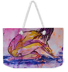 Figurative Abstract Nude 7 Weekender Tote Bag
