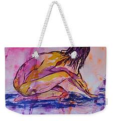Figurative Abstract Nude 7 Weekender Tote Bag