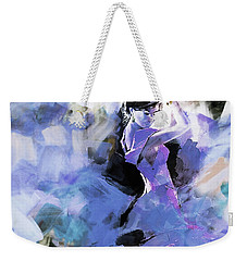 Weekender Tote Bag featuring the painting Figurative Dance Art 509w by Gull G