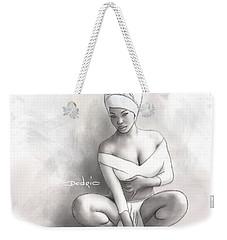 Figure Study 1 Weekender Tote Bag