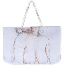 Figure Study Profile 1 Weekender Tote Bag