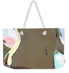 Weekender Tote Bag featuring the photograph Figure This by Tbone Oliver