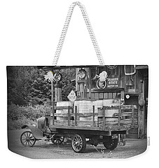 Fill Er Up          B And W Weekender Tote Bag