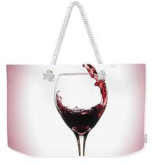 Glass Half Full Weekender Tote Bag