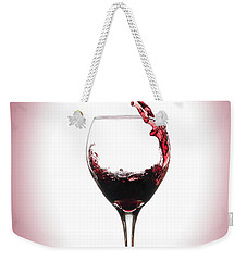 Glass Half Full Weekender Tote Bag by Brian Caldwell