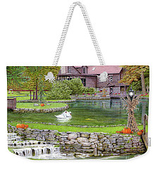 Fin N Feather At Seven Springs Weekender Tote Bag by Albert Puskaric