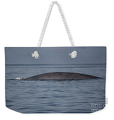 Blue Whale Surfacing Weekender Tote Bag