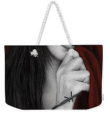 Final Curtain Call...no More Encores Weekender Tote Bag by Pat Erickson