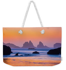 Weekender Tote Bag featuring the photograph Final Moments by Darren White