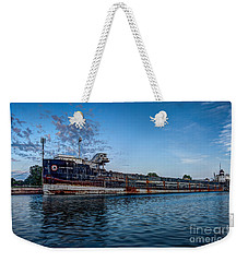 Final Mooring For The Algoma Transfer Weekender Tote Bag