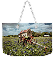 Weekender Tote Bag featuring the photograph Final Resting Place by Linda Unger