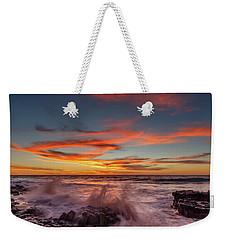 Final Sunset Of 2016 Weekender Tote Bag