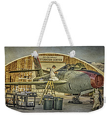 F-84f Thunderstreak Final Touches  Weekender Tote Bag