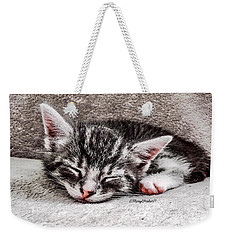 Finally Asleep  Copyright Mary Lee Parker 17  Weekender Tote Bag