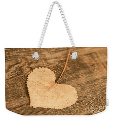 Finding Hearts Weekender Tote Bag by Ana V Ramirez