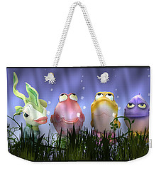 Finding Nemo Figurine Characters Weekender Tote Bag by Brian Wallace