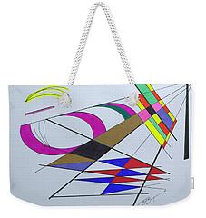 Finding Serendipity Weekender Tote Bag