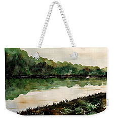 Finding The Place To Cross Weekender Tote Bag