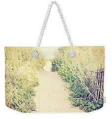 Weekender Tote Bag featuring the photograph Finding Your Way by Trish Mistric
