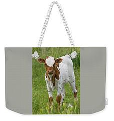 Fine Looking Longhorn Calf Weekender Tote Bag