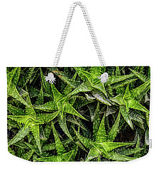 Weekender Tote Bag featuring the photograph Fine Wine Cafe Aloevera by Aimee L Maher Photography and Art Visit ALMGallerydotcom