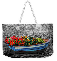 Weekender Tote Bag featuring the photograph Fine Wine Cafe Boat Parade by Aimee L Maher Photography and Art Visit ALMGallerydotcom
