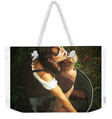 Weekender Tote Bag featuring the photograph Fine Wine by Tbone Oliver