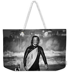 Finished Surfing Weekender Tote Bag
