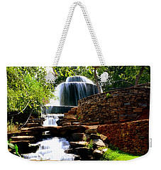 Weekender Tote Bag featuring the photograph Finlay Park Columbia Sc Summertime by Lisa Wooten
