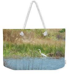 Finnon Lake Egret Weekender Tote Bag