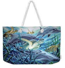 Fins And Flippers Weekender Tote Bag