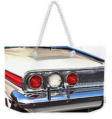 Fins Were In - 1960 Chevrolet Weekender Tote Bag