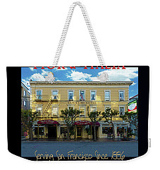 Fior D' Italia Since 1886 Weekender Tote Bag