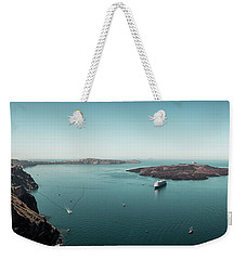 Fira, Santorini - Greece Weekender Tote Bag