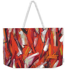 Fire And Light Weekender Tote Bag by Lynne Taetzsch