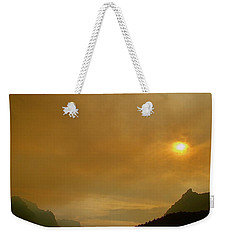 Fire And Sun Weekender Tote Bag