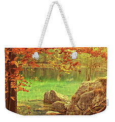 Fire And Water Weekender Tote Bag