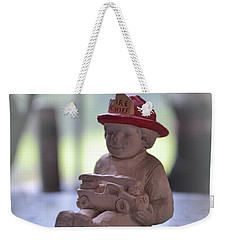 Fire Chief Molded Stone Weekender Tote Bag