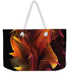 Fire Dance Weekender Tote Bag
