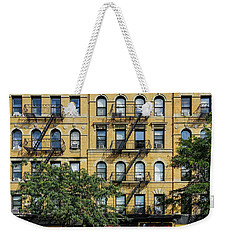 Fire Eascapes On Columbus Ave Weekender Tote Bag
